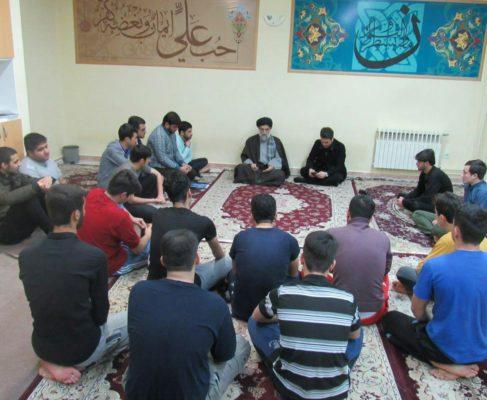 گزارش تصویری / حضور امام جمعه بندرانزلی در جمع دانشجویان دانشگاه خدادادی