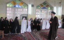 گزارش تصویری / حضور دانش آموزان مدرسه ابتدایی کپورچال در مصلی انزلی