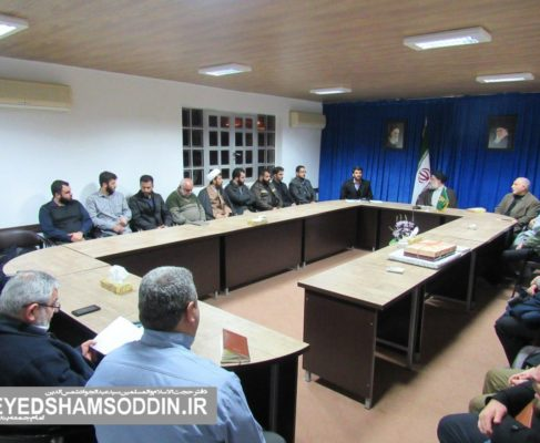 گزارش تصویری / دیدار جمعی از بسیجیان با امام جمعه انزلی