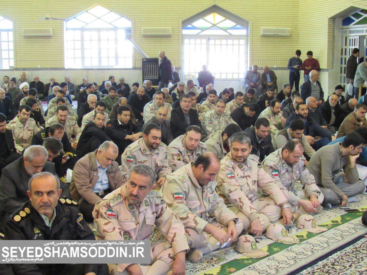گزارش تصویری / نماز جمعه – ۱۵ بهمن ماه