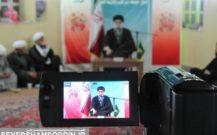 گزارش تصویری / دیدار روحانیون شهرستان با امام جمعه بندرانزلی